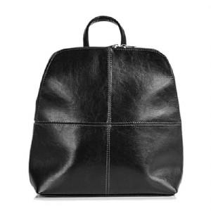 547c7e99bc Dámský elegantní kožený batoh Dan-a T65 černý