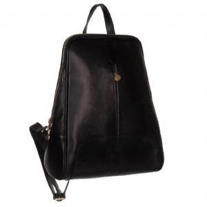 3a3db80de4 Dámský italský kožený batoh 91 černý